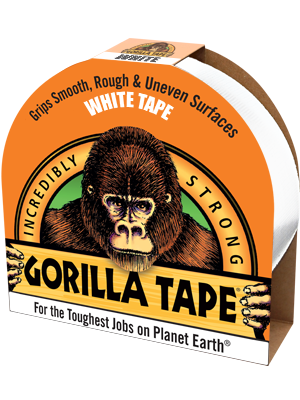 GORILLA Heavy Duty White Gaffa Tape
