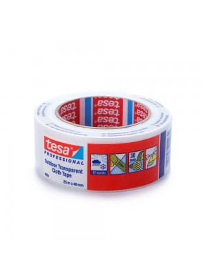Tesa 4665 Clear Gaffa Duct Tape - 48mm X 25m