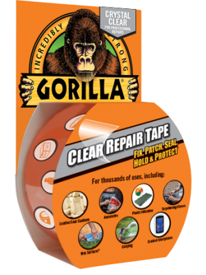 GORILLA Heavy Duty Clear Repair Tape