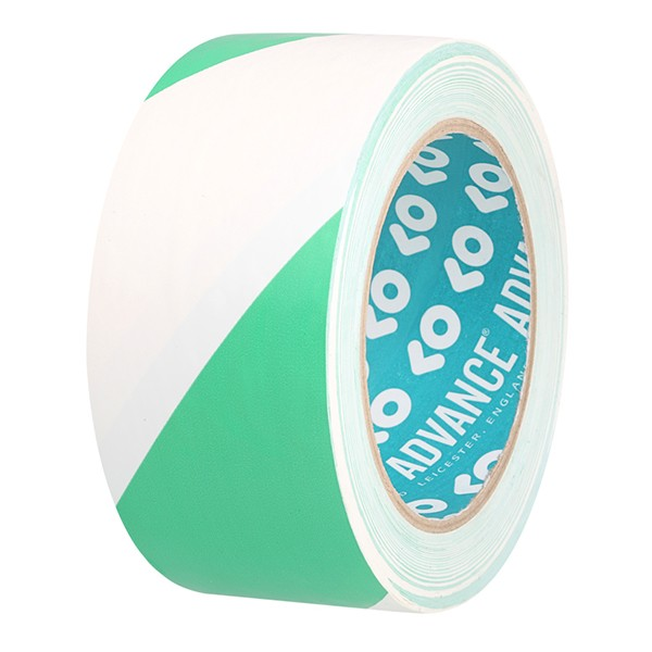 Advance Tapes, AT0008H, White / Green