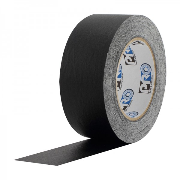 Pro Gaff Coloured Paper Tape | Black