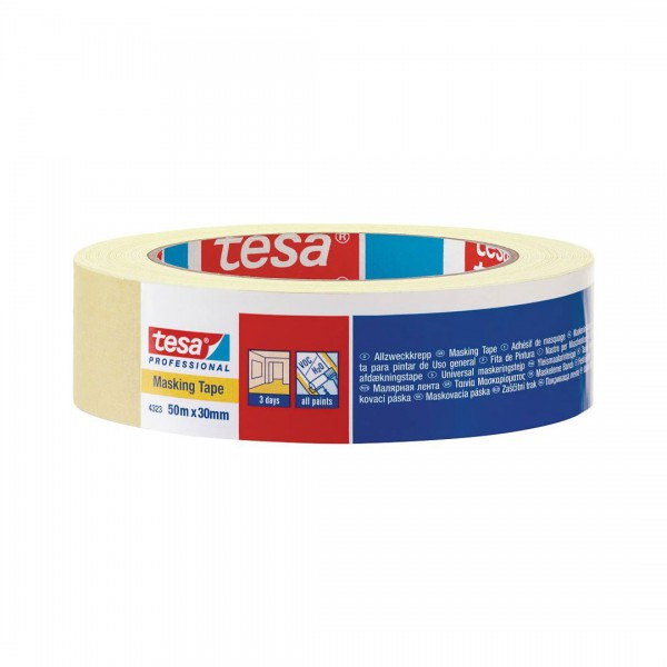 Tesa 4323, General Purpose Paper Masking Tape